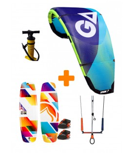 Pack Kitesurf Gaastra Spark/ Liquid Force Edge 2017