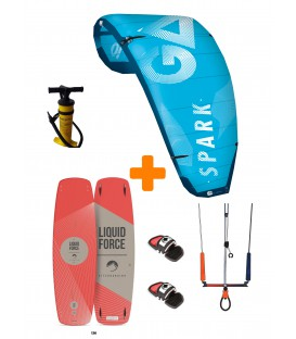 Pack Kitesurf 2019 Gaastra Spark/ Liquid Force Edge
