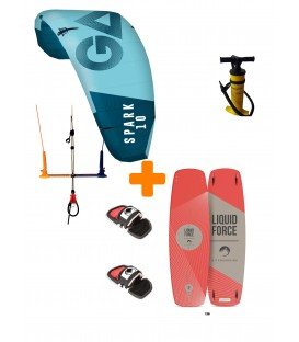 Pack Kitesurf 2020 Gaastra Spark/ Liquid Force Edge