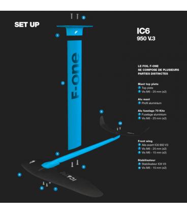 Kitefoil F-One IC6 V3