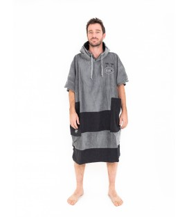 PONCHO ALL IN BIBUMPY CHARCOAL