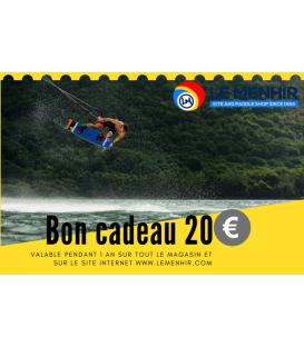 Bon Cadeau Le Menhir 20€