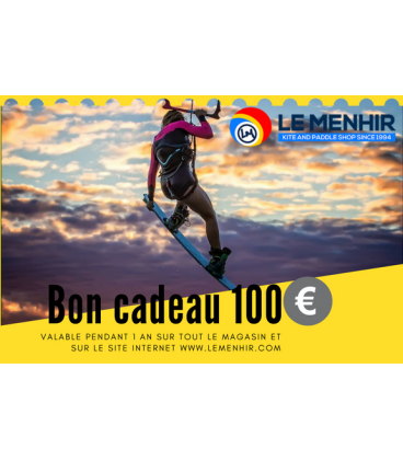 Bon Cadeau Le Menhir 100€