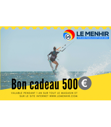 Bon Cadeau Le Menhir 500€